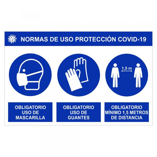 Cartel informativo PVC Femonsa.Shop