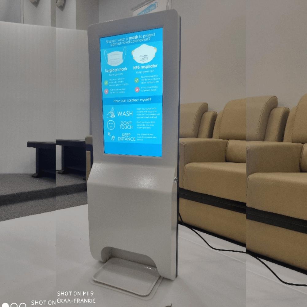 Dosificador automático con pantalla led de pared Femonsa.Shop