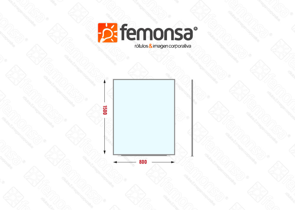 Biombo separador party 800x1500 Femonsa.Shop