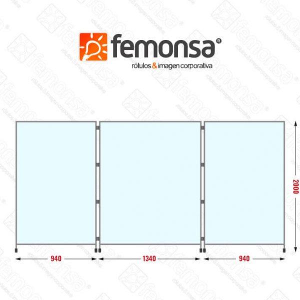 Biombo separador snake slide Femonsa.Shop