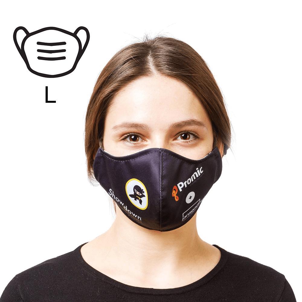 mascarilla proteccion anticontagio personalizable negra Femonsa.Shop