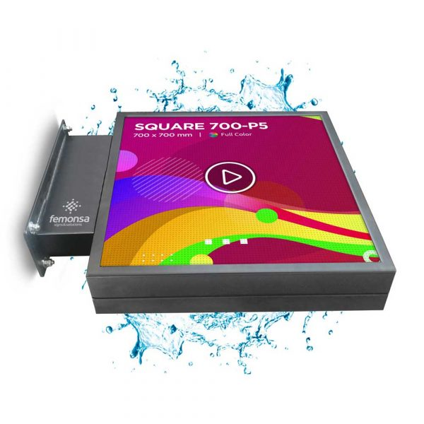 BANDEROLA LED SQUARE 700-P5 - Femonsa | signs&solutions