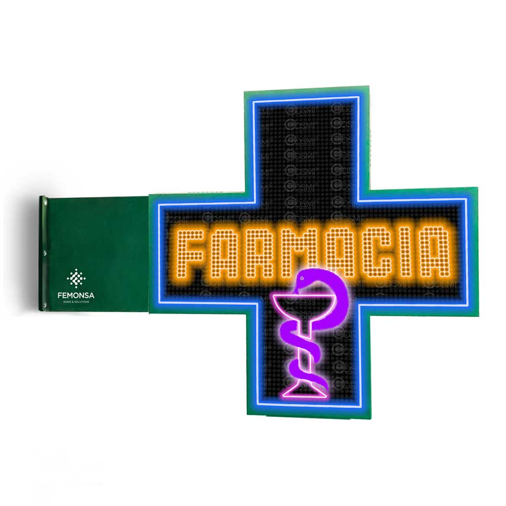 Cruz LED P8xxl Full Color - 103x103cm (120x120px)