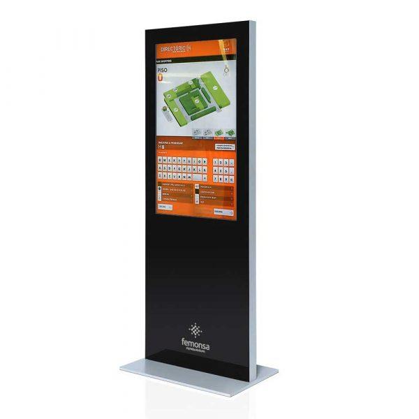 Totem Digital THIN para interiores de Femonsa signs&solutions