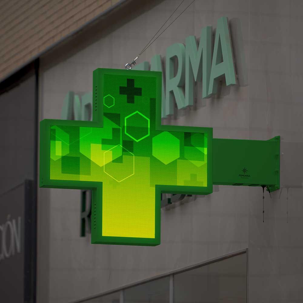 Cruces LED Farmacia | Veterinario