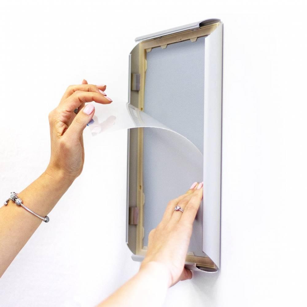 FIlm protector de grafica pra marcos para poster de pared
