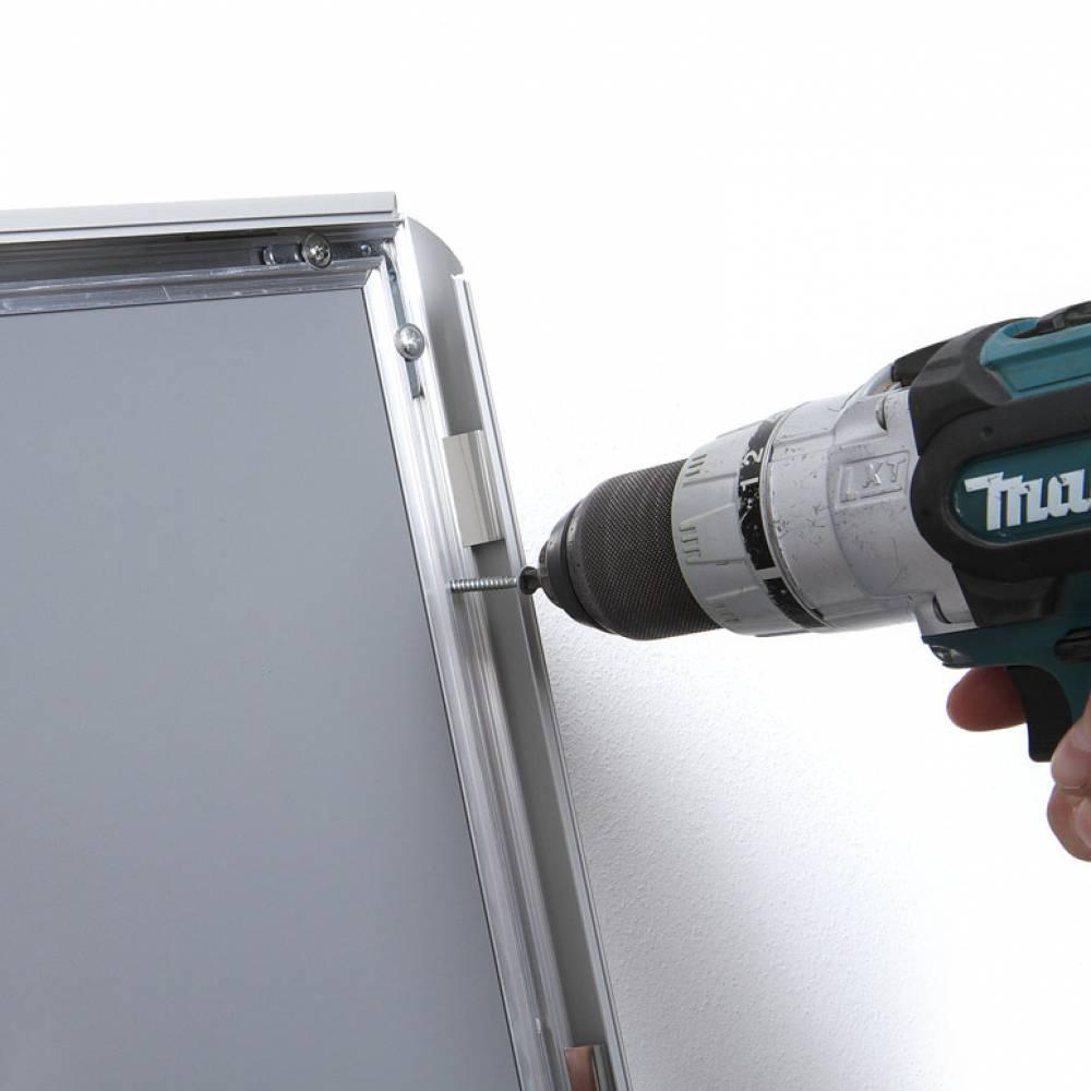 Facil instalacion y montaje de marcos prtaposter de pared