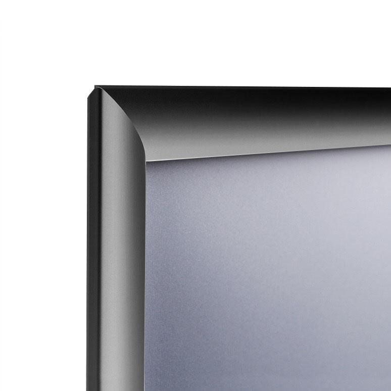 Marcos para poster con perfil de aluminio de 25 mm.